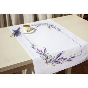 Набор для вышивки Luca-S FM012 Лаванда.Салфетка