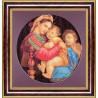 Набор для вышивки крестом Чарівна Мить 592ч Мадонна в кресле