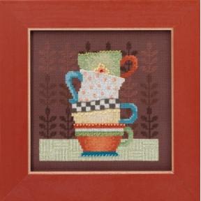 Набор для вышивания Mill Hill DM301615 Coffee Cups фото