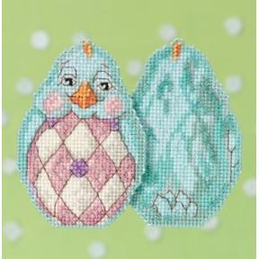 Набор для вышивания Mill Hill JS181714 Aqua Chick