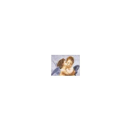 Набор для вышивки крестом Чарівна Мить 409ч Поцелуй фото