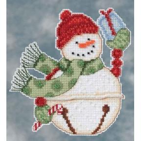 Набор для вышивания Mill Hill DM204103 Freezy Snowbell