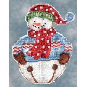 Набор для вышивания Mill Hill DM204101 Jingle Snowbell фото