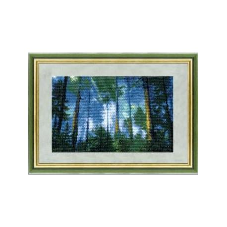 Набор для вышивки крестом Чарівна Мить 334ч Сосновый лес фото
