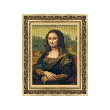 Набор для вышивки крестом Чарівна Мить 240ч Мона-Лиза фото