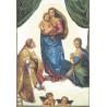 Набор для вышивки крестом Чарівна Мить303ч Сикстинская мадонна