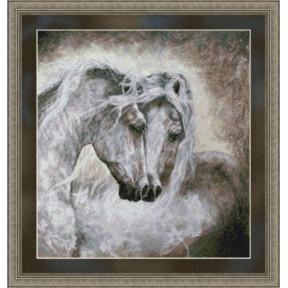 Набор для вышивания Kustom Krafts 99587 Miracle - Stallions фото