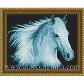 Набор для вышивания Kustom Krafts DAW-005 White Lightning