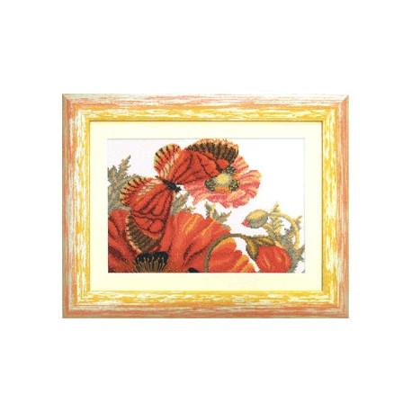 Набор для вышивки крестом Чарівна Мить М-90(А-083) Лето красное