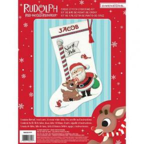 Набор для вышивания Dimensions 70-08959 Rudolph Stocking