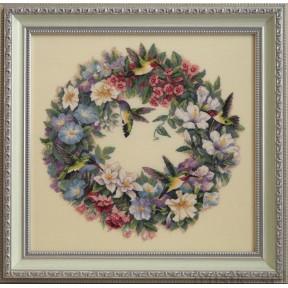 Набор для вышивания Dimensions 35132 Hummingbird Wreath