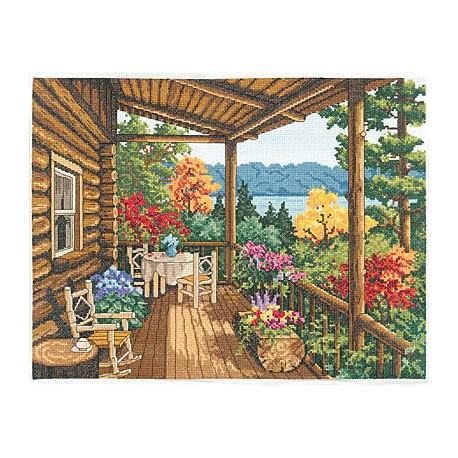 Набор для вышивания Janlynn 032-0100 Covered Porch фото