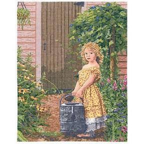"""Набор для вышивания Janlynn 012-0102 The Gardener""""s Daughter"""