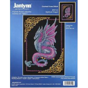 Набор для вышивания Janlynn 157-0010 Mythical Dragon фото