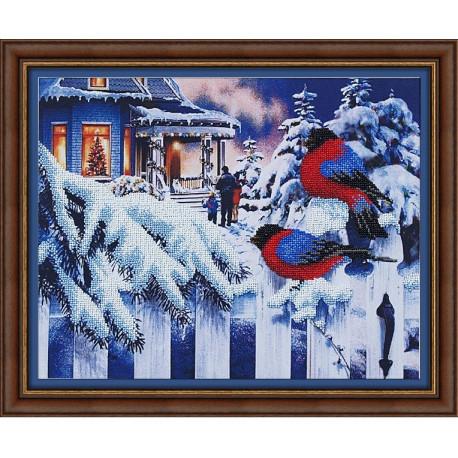Набор для вышивания Магия Канвы Б-013 Вестники зимы фото