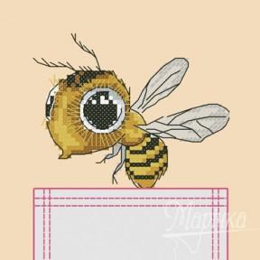Набор для вышивки крестиком на одежде Марічка НКВ-003 Пчелка