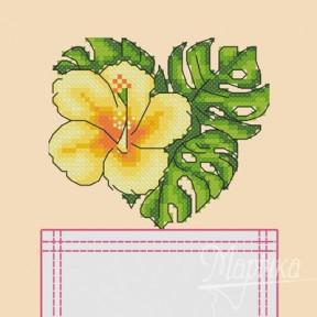 Набор для вышивки крестиком на одежде Марічка НКВ-009