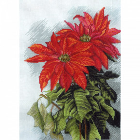 """Набор для вышивания крестом Нова Слобода СР-5552 """"Рождественская звезда"""""""