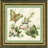 Набор для вышивки крестом Чарівна Мить 191ч Бабочка фото