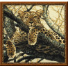 Набор для вышивки крестом Риолис 937 Леопард фото