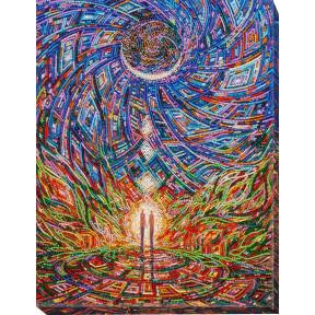 Набор для вышивки бисером на холсте Абрис Арт АВ-652 «Пробуждение любви»