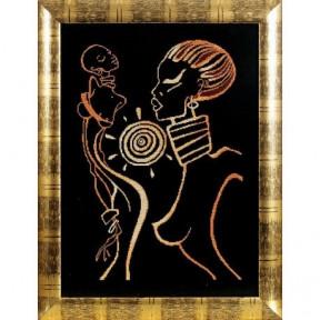 Набор для вышивки крестом Alisena 1059а Африка