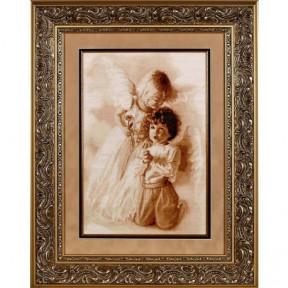 Набор для вышивки крестом Alisena 1053а Молитва ангелов