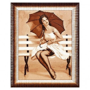Набор для вышивки крестом Alisena 1068а Дождь