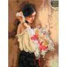 Набор для вышивания Dimensions 70-35274 Woman with Bouquet фото