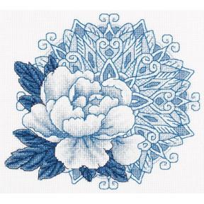 Набор для вышивки крестом Panna Ц-1957 Дивный цветок
