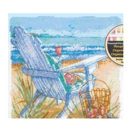 Набор для вышивания крестом Dimensions 70-65102 Tide View фото