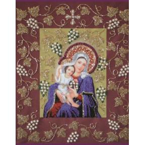 Набор для вышивания бисером Изящное Рукоделие НВ-003 Богородица Покрывающая в рамке