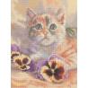Набор для вышивки RTO M269 Кошачьи грезы фото