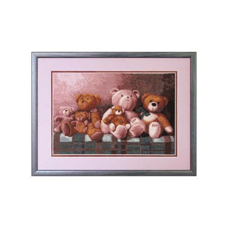 Набор для вышивки крестом Чарівна Мить 526ч Любимые игрушки фото