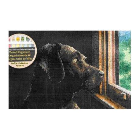 Набор для вышивания крестом Dimensions 70-65104 Pondering Pup