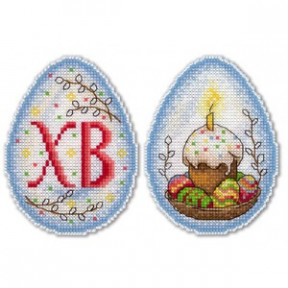 Набор для вышивки крестом МП Студия Р-164 Пасхальное настроение