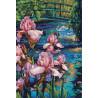 Набор для вышивания крестом Dimensions 70-35264 Iris & Swan фото