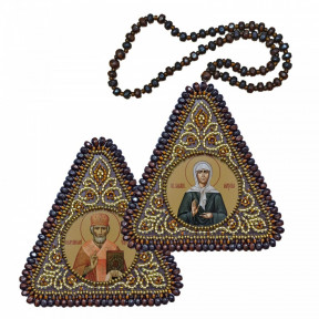 Набор для вышивания двухсторонней иконы Нова Слобода ВХ-1228