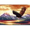 Набор для вышивки крестом Dimensions 35165 Silent Flight фото