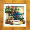 Набор для вышивки крестом Чарівна Мить СТ-33 Чай и клубника фото