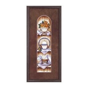 Набор для вышивки крестом Чарівна Мить СТ-34 Полочка
