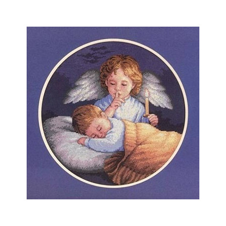 Набор для вышивания Dimensions 03873 Angelic Guardian фото