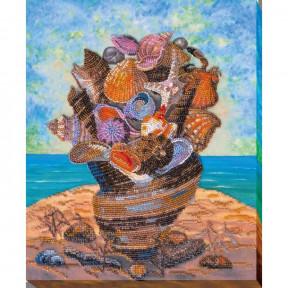 Набор для вышивки бисером на холсте Абрис Арт АВ-671 «Море с