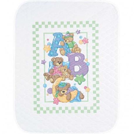 Набор для вышивания Dimensions 72965 ABC Bears Quilt фото