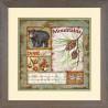 Набор для вышивания крестом Dimensions 70-03244 Vintage Lodge