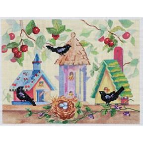 Набор для вышивания Janlynn 023-0274 Birdhouses