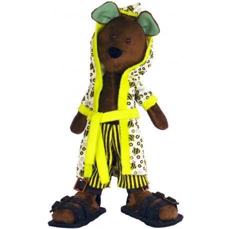 Набор для шитья мягкой игрушки ZooSapiens М3031 Мишуля Чистюля