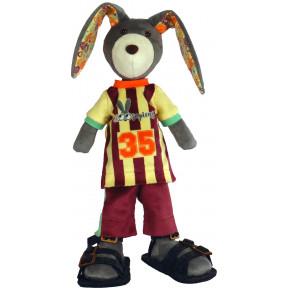 Набор для шитья мягкой игрушки ZooSapiens М3033 Супер Кролик Чемпион