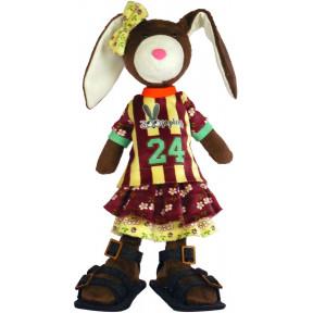Набор для шитья мягкой игрушки ZooSapiens М3034 Крольчиха Не Трусиха