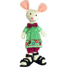 Набор для шитья мягкой игрушки ZooSapiens М3035 Белая Мышка